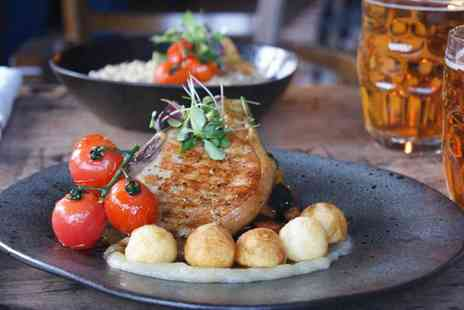 The Royal Standard - Two Course Meal with Wine or Beer for Two or Four - Save 48%