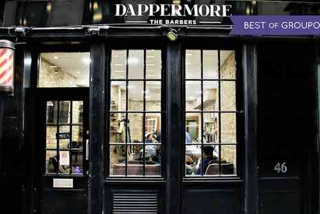 Dappermore - Choice of Traditional Barbers Services, Including Hair and Beard Cut or Clip with Hot Towels and Coffee - Save 43%