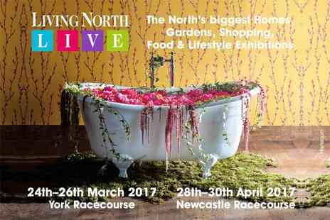 Living North - Two tickets to The Living North Spring Fair at York Racecourse or Newcastle Racecourse - Save 30%