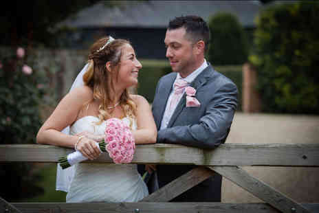 Digital Weddings - Eight hour wedding photography package with the first 300 images on disc - Save 50%