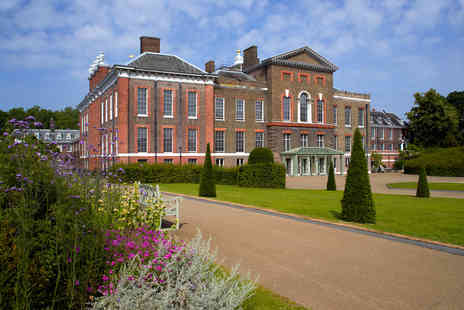 Kensington Palace - Visit with Champagne Afternoon Tea for Two - Save 14%