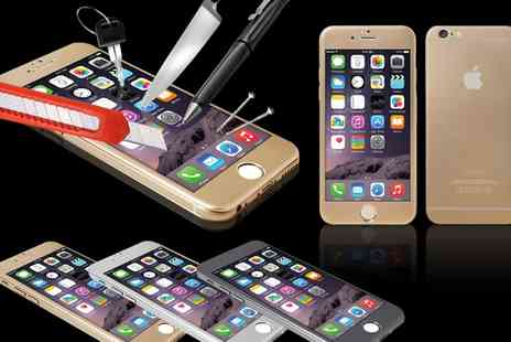Groupon Goods Global GmbH - One or Two Full Body Aluminium Cases with Integrated Tempered Glass for iPhone 5 Or 5S Or SE - Save 75%