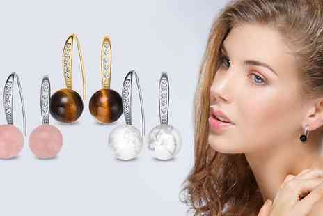 Neverland Sales - Essence Earrings with Crystals from Swarovski Include Free Delivery - Save 76%