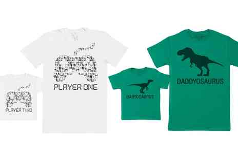 Groupon Goods Global GmbH - Spoilt Rotten Father and Baby Matching TShirts - Save 0%