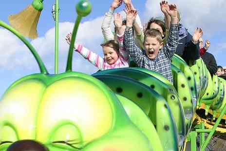 M&Ds Theme Park - Ride All Day Wristband for One or a Family of Four, or a Family Season Pass to M&Ds Theme Park - Save 35%