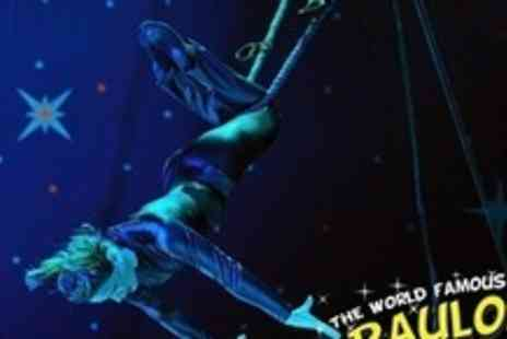Paulos Circus - Grandstand Tickets for Two Adults - Save 62%