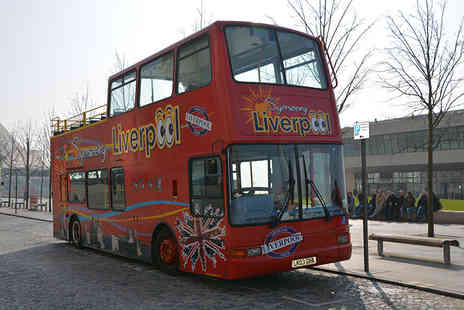 Liverpool City Tours - Open top Liverpool sightseeing tour for two - Save 55%