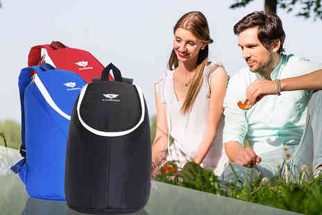 Karabar - Insulated picnic backpack choose from three colours. - Save 0%
