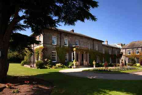 Doxford Hall Hotel & Spa - Four Star Northumberland stay for two including leisure access, breakfast and £80 dinner credit - Save 49%