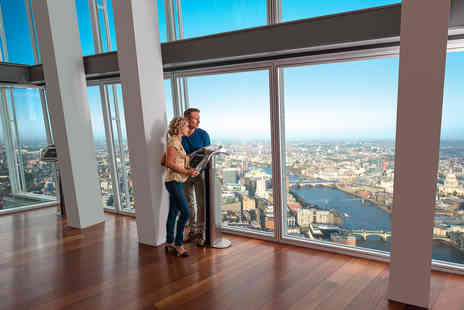 Marco Pierre Whites - The View from The Shard with a Two Course Meal and Cocktail - Save 29%