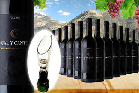 Karpe Deal SL - 16 Bottles of Award Winning Caly Canto Castillo with Wine Aerator - Save 3%