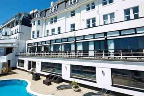 Ocean Beach Hotel and Spa - East Cliff Stay with Sea View Room & Extras - Save 66%