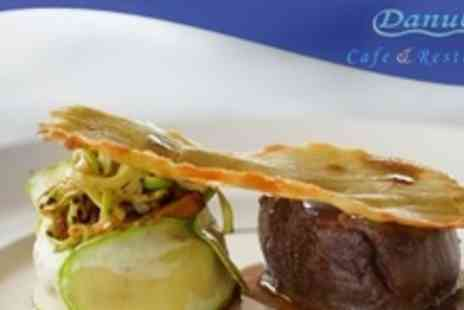 Danube Restaurant - Two Courses of European Cuisine For Two With Coffee - Save 54%