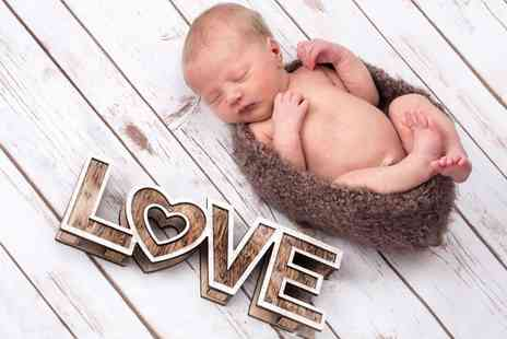 Curtis Jenson Photography - Newborn Photoshoot with 12 Inch x 8 Inch Print - Save 82%