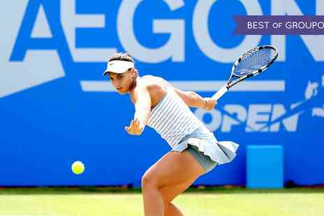 LTA British Tennis - One adult, child or Donation Day ticket to Aegon Open Nottingham 2017 on 12 To 18 June 2017 - Save 0%
