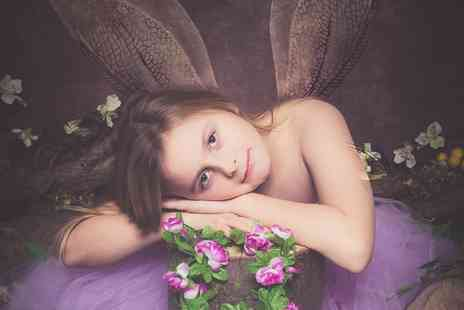 Northumbrian Photography - Fairies or Fisherman Photoshoot with Framed Print - Save 87%