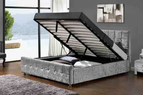Groupon Goods Global GmbH - Chloe Ottoman Bed with Optional Mattress Include Free Delivery - Save 46%