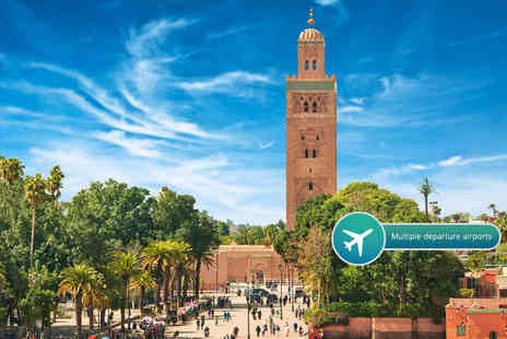 ClearSky Holidays - Two, three or four night 4 Star all inclusive Marrakesh break with flights and transfers - Save 41%