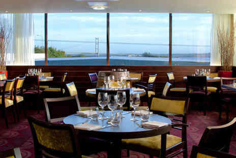 Hallmark Hotel Hull - One night Yorkshire break for two with sparkling cream tea - Save 0%