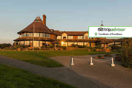 East Sussex National Hotel - Romantic overnight stay for two with breakfast, a mini beauty treatment and leisure club access - Save 46%