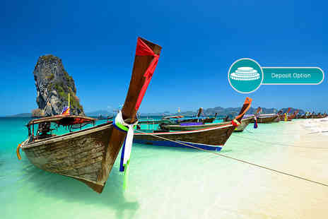 Great Pacific Travels - Eight or ten night Thailand break to Koh Tao, Koh Samui and more, including breakfast, flights and ferry transfers - Save 27%