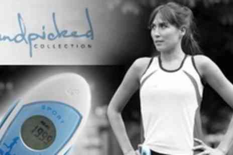 The Handpicked Collection - Two ila Sport Pedometer Personal Safety Alarms - Save 56%