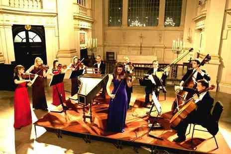 Candlelight Concerts - Ticket to see Vivaldi, The Four Seasons by Candlelight, with a programme and CD - Save 43%