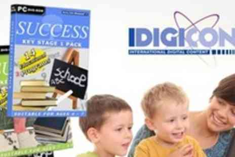 Idigicon - Educational PC Software for Keystage One and Two - Save 88%