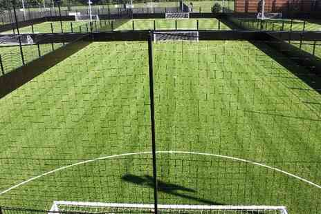 Fives Soccer Centre - Five a Side Football Pitch Hire Up to Three One Hour Sessions - Save 49%