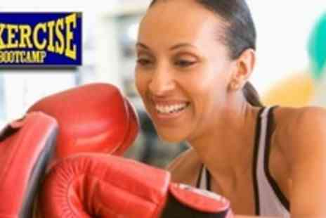 Boxercise Bootcamp - Choice of Ten Exercise Sessions, Including Boxercise, TRX Suspension, or Kettlebell With Individual Diet Plan - Save 73%