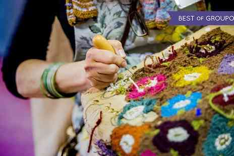 The Knitting and Stitching Show - One late Thursday ticket to The Spring Knitting & Stitching Show on 2 March 2017 - Save 29%