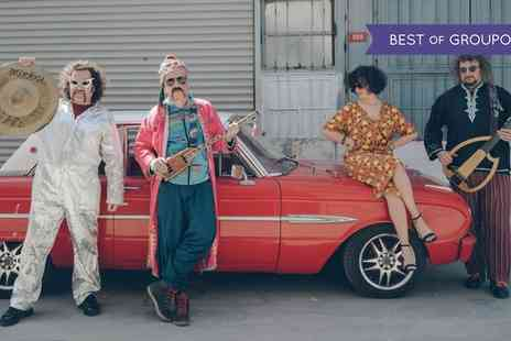 BaBa ZuLa - One ticket to see BaBa ZuLa on 27 April - Save 29%