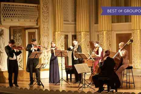 Candlelight Concerts - One price band C, B, or A ticket to London Concertante Vivaldis Four Seasons by Candlelighton on 18 March - Save 43%