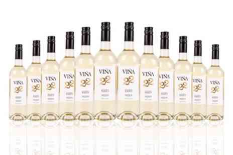 the vineyard club - 22 Bottles of Viña Kalius Spanish White Wine With Free Delivery - Save 34%