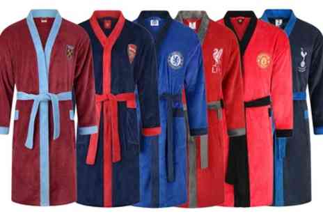 Groupon Goods Global GmbH - Mens Offically Licensed Football Dressing Gown in Choice of Design - Save 0%
