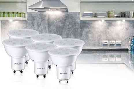 Electric Mania - Pack of six Philips LED kitchen lights - Save 25%