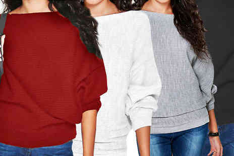Black Sheep - Womens Oversized Pullover in 4 Colours - Save 68%