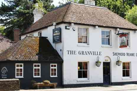 The Granville - Good Pub Guide Recommended 3 Course Meal for 2 - Save 39%
