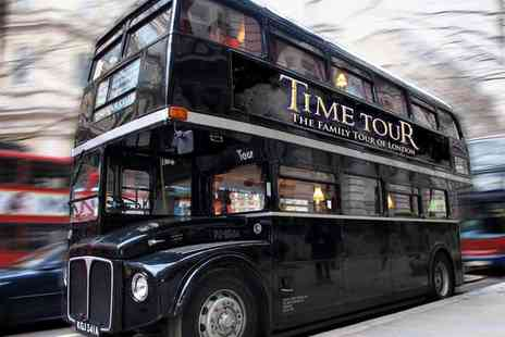 Time Tour - Theatrical Time Tour of London with Guidebooks for a Child, Adult or a Family of Four - Save 50%