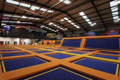 Air Vault - Trampoline Park Access for Up to Four - Save 44%