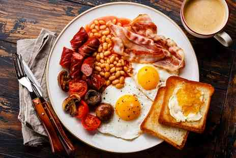 Deli Continental 37 - Full English Breakfast with Tea for Two or Four - Save 30%