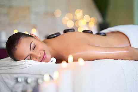 Polished Hair & Beauty - Full Body or Back and Shoulder Hot Stone Massage with a Mini Facial - Save 0%