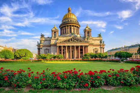 Weekender Breaks - Five night Tallinn and St. Petersburg break including breakfast, flights and train transfer - Save 33%