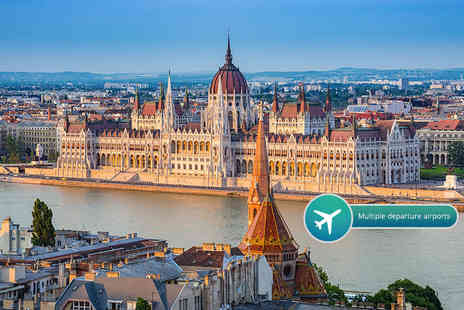 ClearSky Holidays - Two or three night 5 Star Budapest break with flights and Retro Design Museum entry - Save 33%