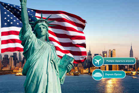 Crystal Travel - Six night 4 Star New York and Niagara Falls break with flights and Amtrak train transfer - Save 37%