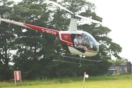 Heli Jet Aviation - Hover challenge experience for one person including refreshments and a certificate - Save 36%