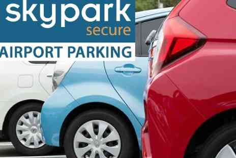 SkyPark Secure - Airport parking at over 10 UK airports - Save 0%