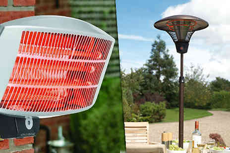 Gablemere - Electric Patio Heater in 2 Styles - Save 0%