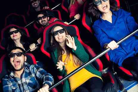 Vertigo - 5D Cinema Tickets for Up to Four - Save 40%