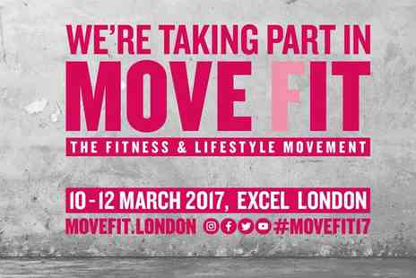 Move Fit - Adult Tickets to Move Fit on 10, 11 and 12 March - Save 50%